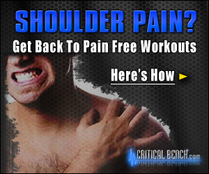 Shoulder pain button ad